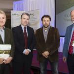 John Connolly, Project Manager; Gerard Murphy, Coillte; Alex Copland, Birdwatch Ireland; Eugen Griffin, Project EU Affairs Manager