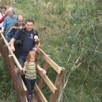 Bog Bridge being tested! - August 2013