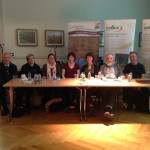 Project Team at Raised Bog Seminar hosted by Westmeath County Council, May 2015