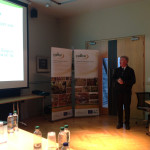 John Connolly giving his presentation at Raised Bog Seminar hosted by Westmeath County Council, May 2015