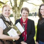 Catherine O'Connell, IPCC, Caroline Wilkie, Coillte and Katie Geraghty, IPCC - End of Project Conference Sept 2015