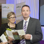 Sharon Byrne, Project PR and Pat Martin, LIFE NCP Dept of the Environment - Project Conference, September 2015